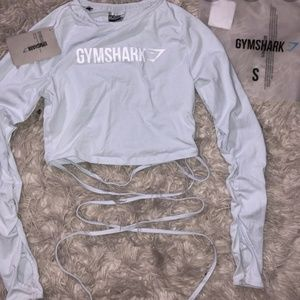 Gymshark ribbon long sleeve top